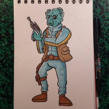 Greedo by tomcollemare