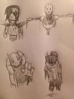 Five Nights in the Underground: Withered by Katkalis