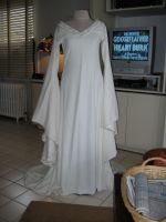 Eowyn's White Wool Gown by ThreeRingCinema