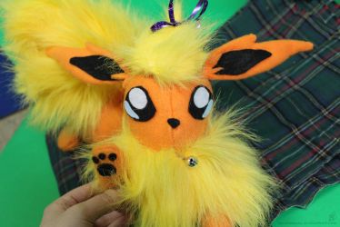 Flareon Plush (another view) by MeMiMouse