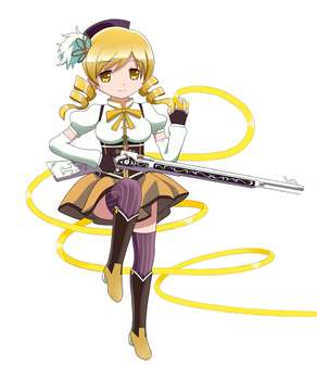 Mami Tomoe by antoyuju