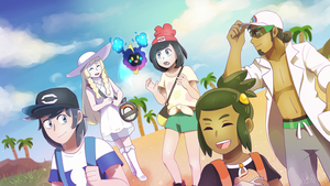 [Speedpaint] Pokemon- Welcome to Alola! by Gameaddict1234