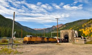 East Bound at the Moffat Tunnel by eDDie-TK
