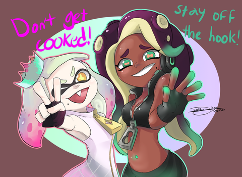 Off the hook by drivojunior