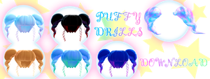 PuFF drills Download Dl for MMD by HoshichoM