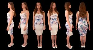 Honour May Orthographic Dress by LexLucas