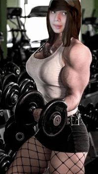 Luxanna Muscle Morph by Turbo99