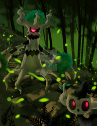 Day 4: Favorite Ghost Type by Rock-Bomber