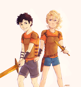 We were twelve Percy. Can you believe that.1/2 by alex-29