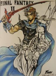 Firion - Dissidia by violetmirage