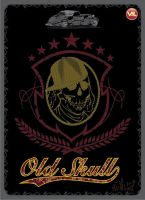Old Skull by inumocca