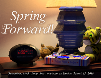 Time Change Spring 2016 by gradyp