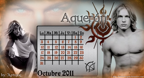 Calendario de Aqueron by Dark-Hunter-Spain