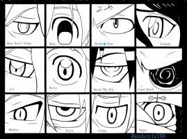 Soul Eater Eyes by Randazzle100