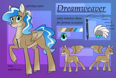 Dreamweaver - ref by MythPony