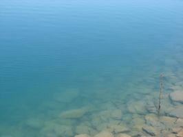 Blue Pond Water Texture 3 by FantasyStock
