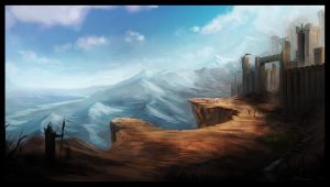 Initial Environment Concept by Rene-w