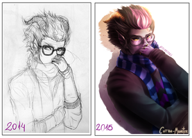 Eridan Ampora - draw again by Cotton-Monster