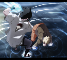 Naruto 697 - Goodbye my friend by X7Rust