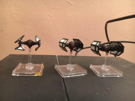 star wars x wing miniatures first order paint 2 by thatguy4802