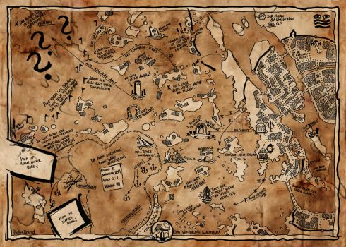 Smugglers Plan of Havena by SteffenBrand