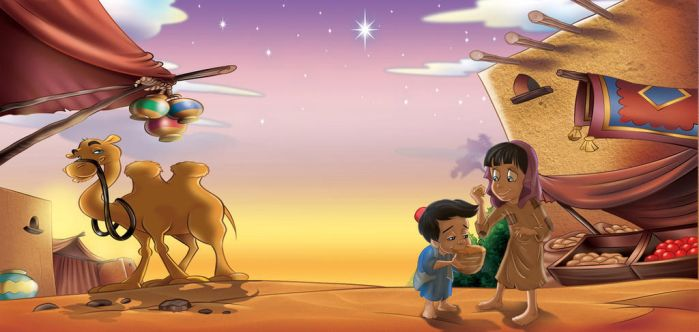 disney aladdin background by Russian87