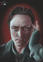 Color Meme: Young Charles Xavier by stvn-h