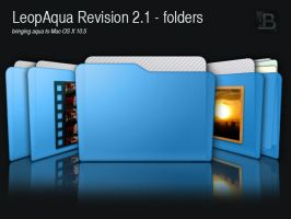 leopAqua Revision 2.1 - PNG by ieub