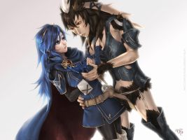 Lucina x Yarne - Commission by GEISTROCK