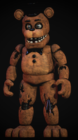 Corrected Withered Freddy [Blender FNaF] by TRAWERT