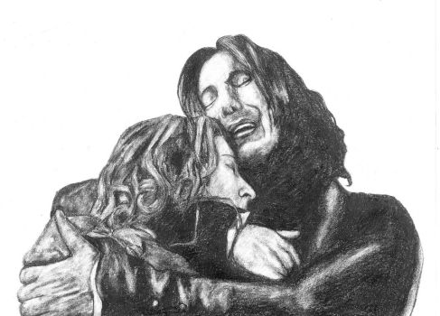 Snape and Lily by Claire-Elise17