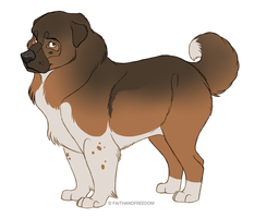 Caucasian Shepherd Dog by faithandfreedom
