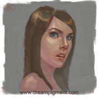 Face Study 2 by DreamPigment