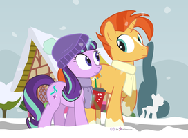 #dm29HolidayHorse Day 3: Starlight + Sunburst by dm29