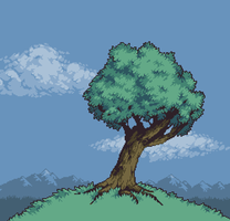 The Ugly Tree With the Ugliest Color by skeddles
