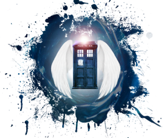 Tardis by DarraChese