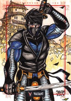 NINJAK sketchcard by JASONS21