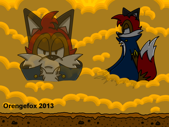 Orengefox faces his greatest challenge... himself! by Orengefox