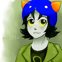 Nepeta doodle by MobiusMelody