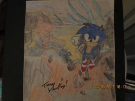 Archie Sonic Issue 256  Variant Cover Sketch by SonicWindAttack