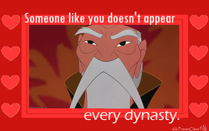 Mulan's Valentine: Every Dynasty by FrozenClaws