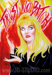 Trust no Bitch 5 Laura Palmer by soyivang