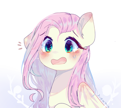 Redraw / Fluttershy by WindyMils
