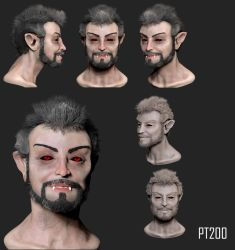 Demon Sculpt by PT200