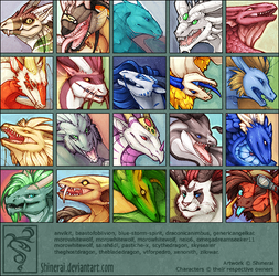 10 Dragons by Shinerai