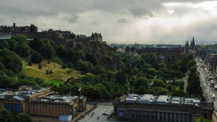 Edimburgh Castle by andre2886