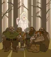 Snow White and the VII Dwarves by JakRabbit96
