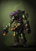 Green Goblin by SergioSilvan