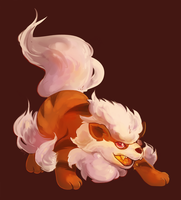 Arcanine by bylacey