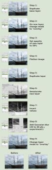 Create faux HDR photos! by TheBrassGlass